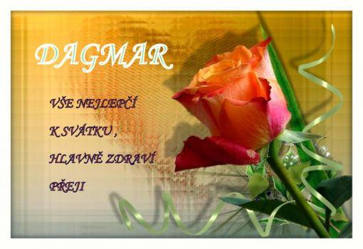přání k svátku dagmar Zítra má svátek DAGMAR     | 70 pieces jigsaw puzzle přání k svátku dagmar