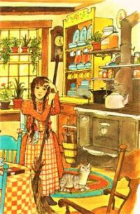 Themes Vintage illustrations/pictures - time for tea