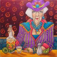 Shelly Bedsaul Artwork - 'Tequila Shots'