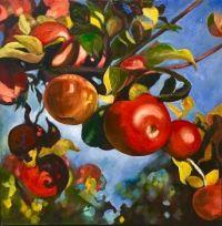 Under The Apple Tree by Brenda Loschiave