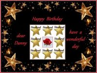 Happy birthday Danny (Starlord)