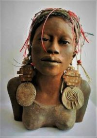 Clay Sculpture with Attachments