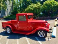 Bright red 34 ford pickup II