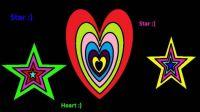 Stars and hearts :)