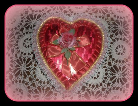 Vintage Valentine Box re-sized for Monica, enjoy