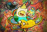 Adventure Time Grafitti