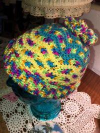 My crazy color hat.
