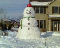 Gynormous Snowman