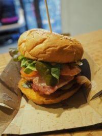Shaka Bros. 'Andy the Electrician' burger'