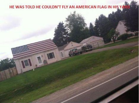 Roof Flag