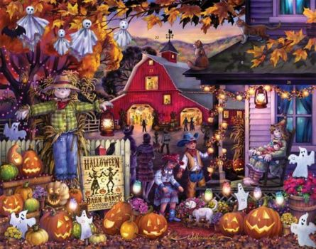 Ghosts and pumpkins in Vermont