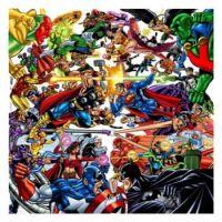 JLA vs the Avengers by Perez (Art) and Jang(Colourist)