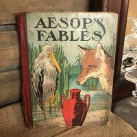 """A Very Vintage Book Of """"Aesop's Fables""""  by Bess Bruce Cleveland"""