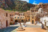 Monemvasia Town in Greece  5538