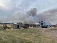 Wildfire in Alberta