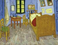 Van Gogh's Bedroom in Arles, 1889