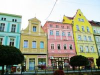 Colourful Buildings, Zlatoryja, Poland