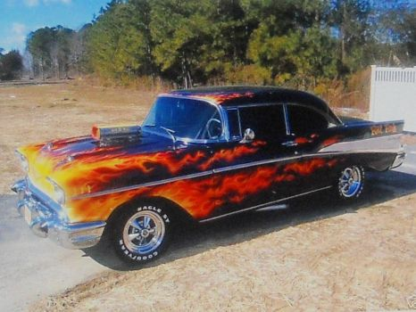 love the flames!!!(spunky & the bandit)