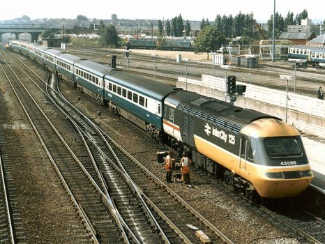 Railway Station, Doncaster - 16th Jul 1986