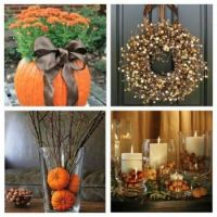 Autumn decorations...