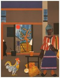 Morning of the Rooster (1980) ~ Romare Bearden