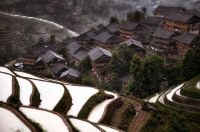 One of the many beautiful mountain villages in China