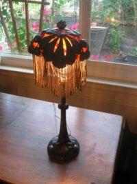 Antique Pewter Lamp