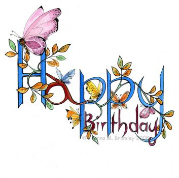 Happy Butterfly Birthday OandA!!