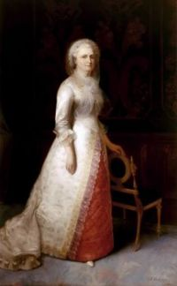 Martha Washington, wife of President George Washington
