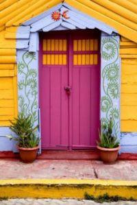 Multi-Colored Door