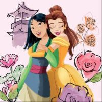 Mulan and Belle