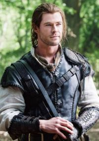 Chris Hemsworth as The Huntsman