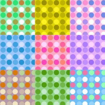 Colourful Polka Dots
