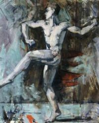Francis Campbell Boileau Cadell (Scottish, 1883–1937), The Dancer (ca 1915)