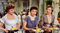 THREE COINS IN THE FOUNTAIN - 1954  JEAN PETERS, MAGGIE McNAMARA, DOROTHY McGUIRE