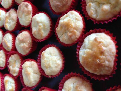 Flower scented tea cookies