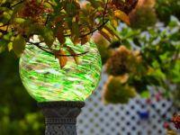 Beautiful yard globe