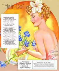 Themes Vintage illustrations/pictures - Hair-Do