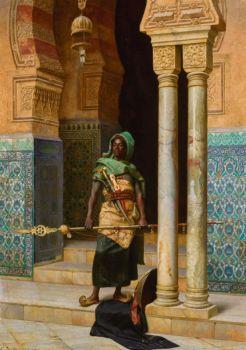 "Ludwig Deutsch, ""The Nubian Palace"", 1902"