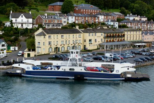 Dartmouth Ferry in the United Kingdom