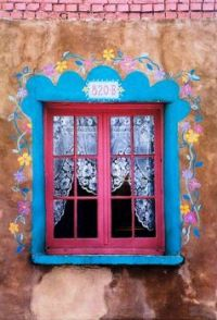 Flower Trimmed Window