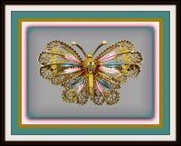 More Beautiful Butterfly Brooches