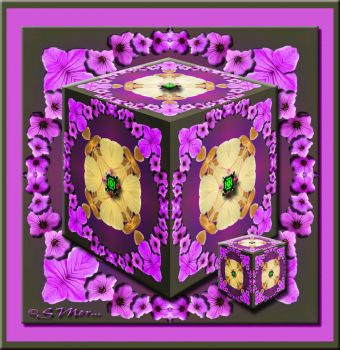 Cubed Kaleido In Purple For The PFC....
