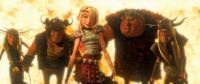 "Astrid and friends from ""How To Train Your Dragon"""