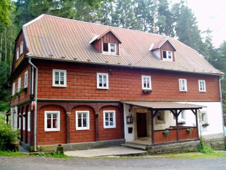 Stary Mlyn (Old Mill) guesthouse Jetrichovice, Czechia