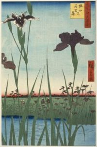 Horikiri Iris Garden from the serie One Hundred Famous Views of Edo