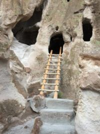 cave dwelling, Bandelier National Monument NM