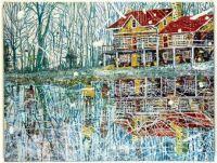 Pond Life de Peter Doig