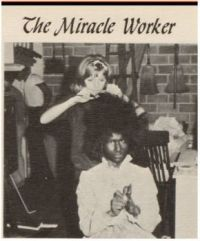 Back Stage in Makeup - The Miracle Worker - Many Long Years Ago