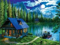 Evening at the Cabin #1